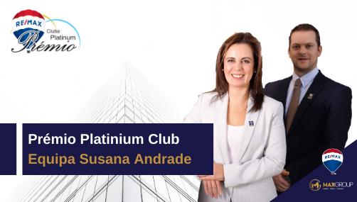 Prémio Platinium Club Equipa Susana Andrade